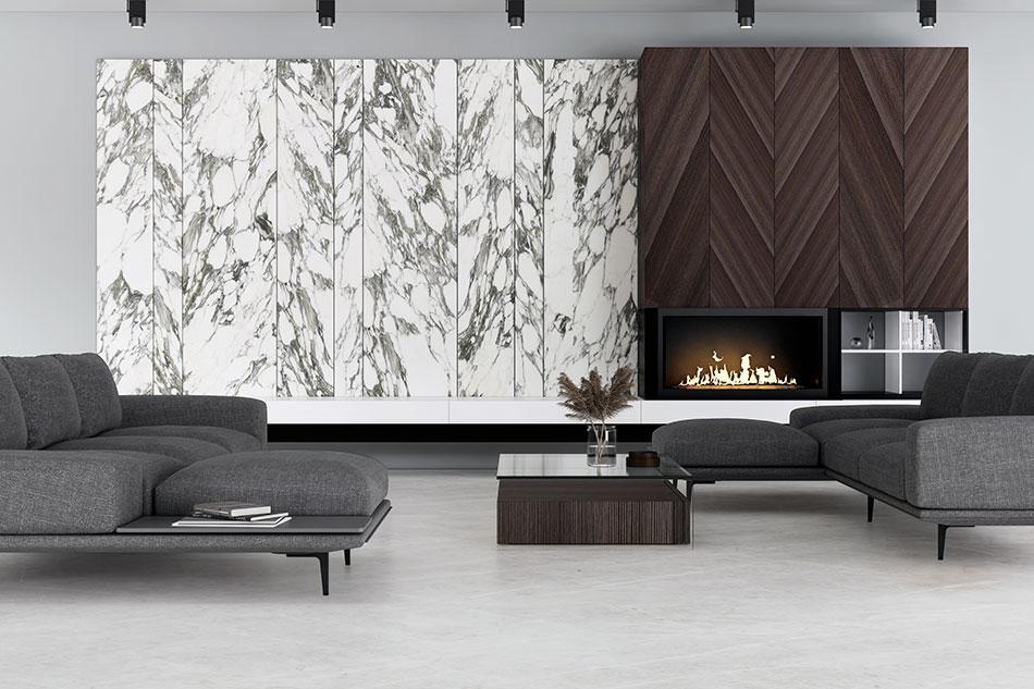 Arabescato Calacatta Marble