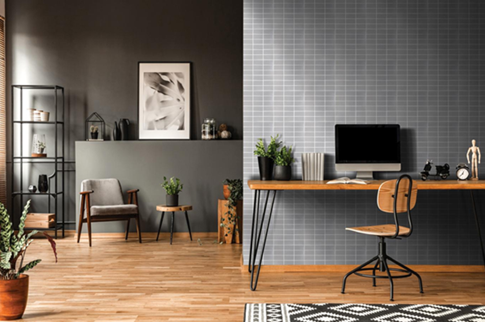 Designate a space for work from home