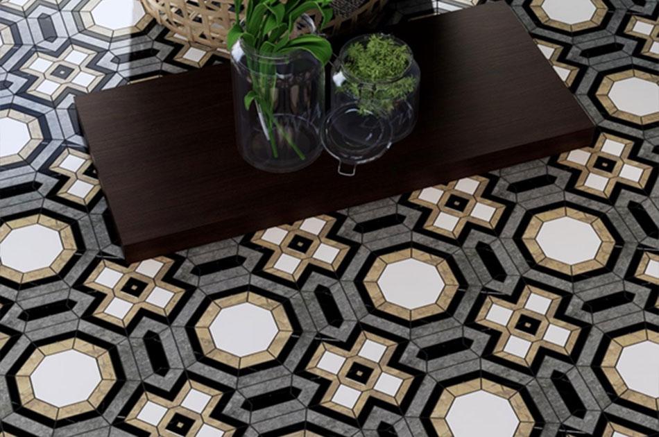 Durable mosaic tiles