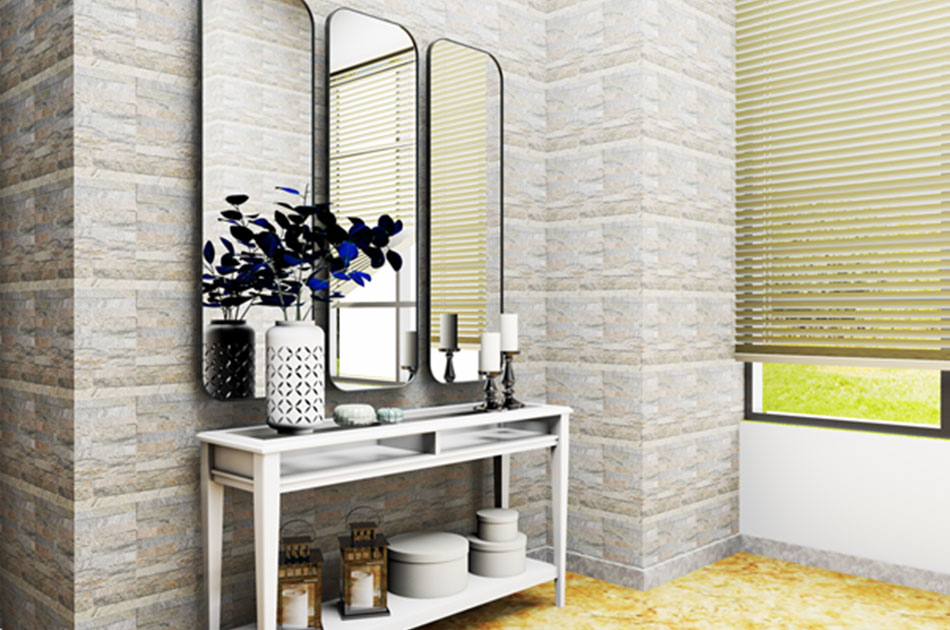 easy to maintain mosaic tiles