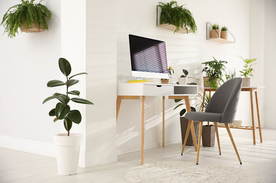 work from home space decor