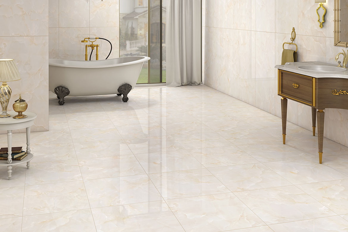 crema bellini Bathroom tile